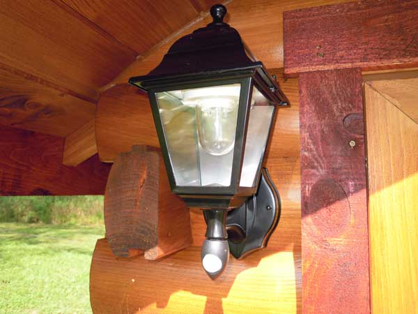 battery operated motion detecting led porch light there 39 s two. Black Bedroom Furniture Sets. Home Design Ideas