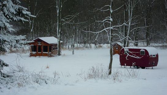 My Trophy Amish Cabin