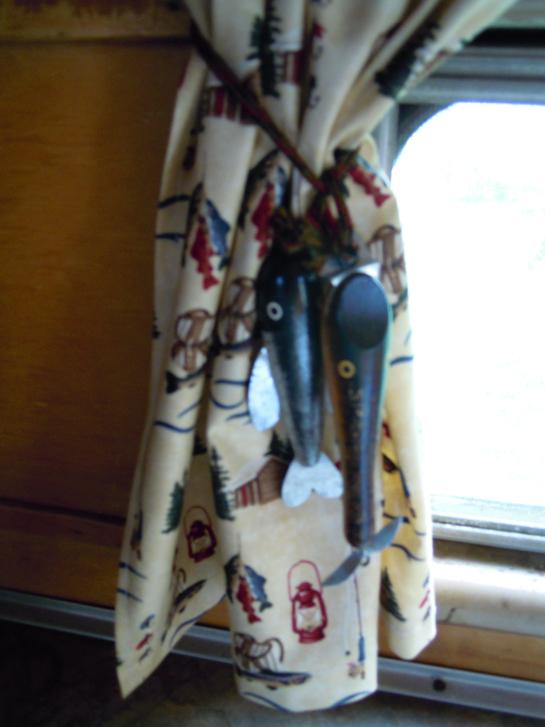 Cabin Curtain Valance | Decorative Window Film